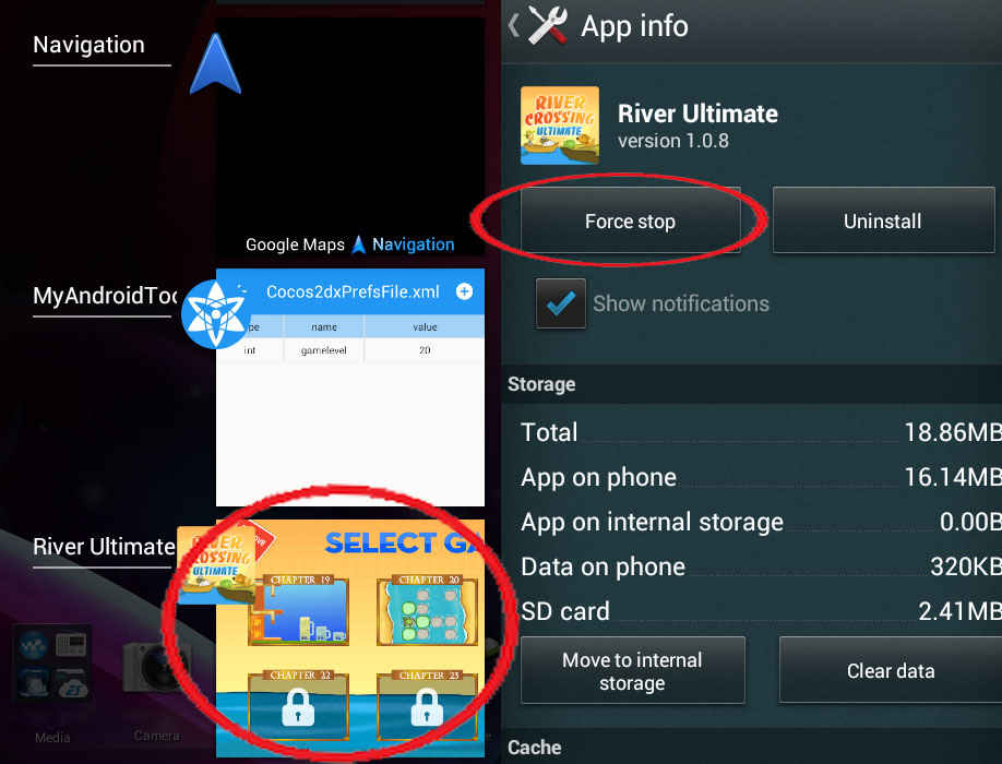How to modify android apps or games data