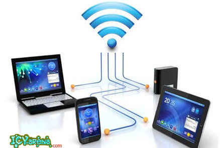 Share files between android to android or pc to android device via wifi